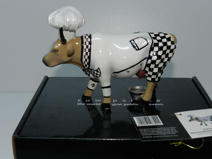 Cowparade - Chef Cow - Artist Alunos da Universidade Estacio de Sa