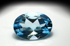 Sky Blue Topaz – Total: 6.29 ct