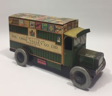 Chad Valley, England - Length 25 cm - Biscuit tin / truck
