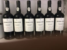 2003 Vintage Port Burmester - 6 bottles