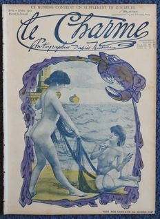 Art Nouveau; Lot with 2 issues of Le Charme – 1903