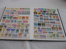 World – 20 stock books with stamps