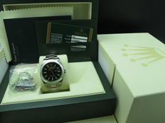 2009 ROLEX MILGAUSS 116400GV GREEN GLASS FULL SET