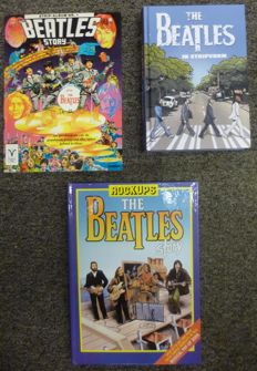 Comics about the Beatles  plus Pop Up album
