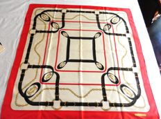 Cartier - Céline - 2 silk scarves