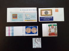 Italian Republic, 2002-2006, Lot of 5 varieties