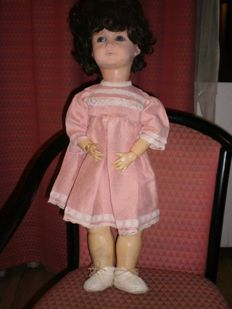 Large vintage doll by brand Paris 301, France