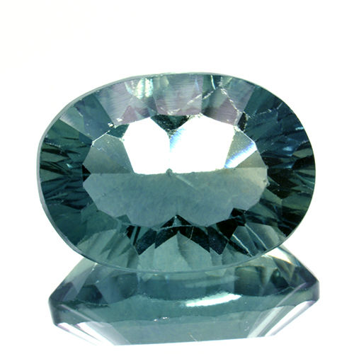 Green fluorite - 6.61 ct - No reserve price.