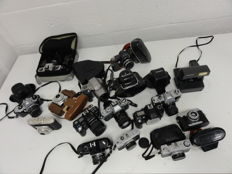 16 analogue cameras