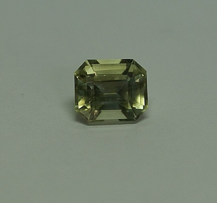 Diopside (Baijkalit)  , yellow-green , 3,60  ct