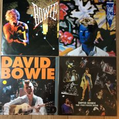 David Bowie collection | 4 LP's | Stil in sealing!