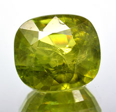 Sphene or Green Titanite - 1.26 ct - No Reserve Price
