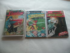 Collection Of Vintage DC Comics - Including The Sandman, Secrets Of Sinister House And The Shadow - x16 SC - (1972/1976)