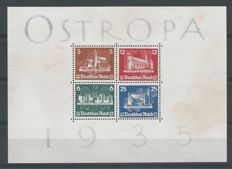 German Empire/Reich 1935 – OSTROPA – Michel block 3
