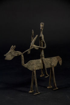 Rider and his horse - DOGON - Mali