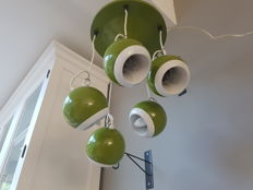 Gepo – Ceiling light 5 spheres