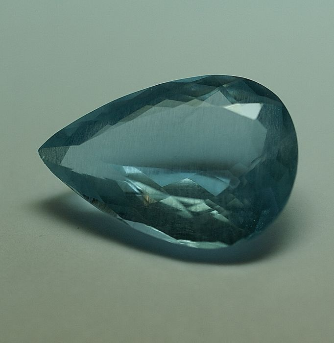 Aquamarine - blue, 13.33 ct