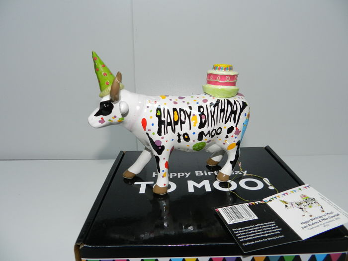 Cowparade -Happy Birthday - Artist Juan Andreu