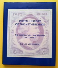 """Literature: 7 Dutch stamp booklets from the 1970s & """"Postal history of the Netherlands 1852, 1864 and 1867"""""""