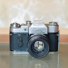 Lot ZENIT 3M, FED 3 (type b) - Photo camera (collectible)