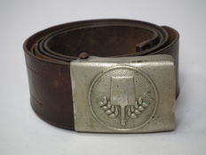 Belt with buckle, badge of Voluntary Labor Service FAD, Germany until 1933