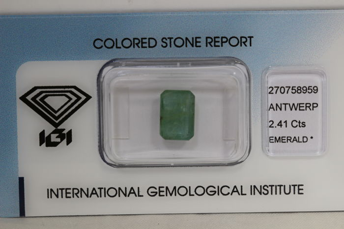 Emerald – 2.41 ct – No Reserve Price