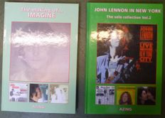 Limited Numbered Books : 4 beatles -Lennon books written and signed by Azing Moltmaker