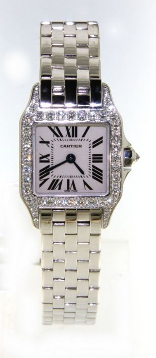 Cartier Santos Demoiselle - ladies wristwatch -WF9003Y8
