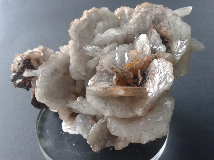 Rare Barite crystal rose clusters - 12 x 9 x 8 cm - 700 gm