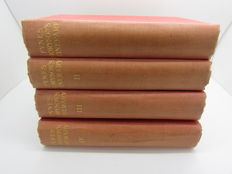 Fynes Moryson - An Itinerary - 4 volumes - 1907