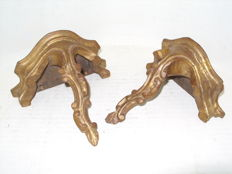 A pair of antique Misulas in Golden Talha, France, late 19th century