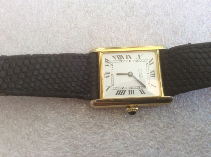 Cartier Watch - Women's model, 1978?