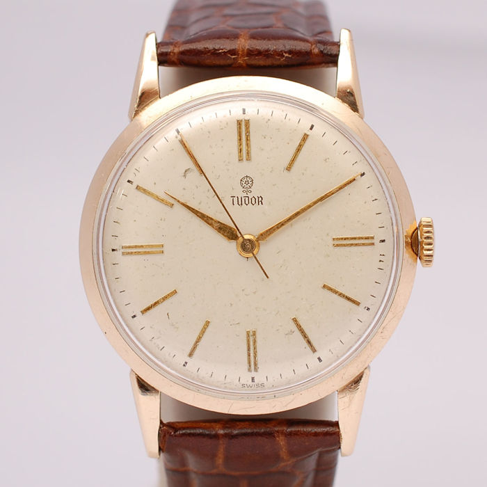 Tudor Rolex Vinatge 9ct Solid Gold Dress Watch - Gent's Watch - 1960's
