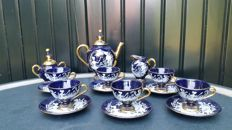 Tea/coffee set - C. Florentine - Handmade