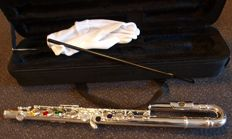 Student Flute ChS with curved mouthpiece and case
