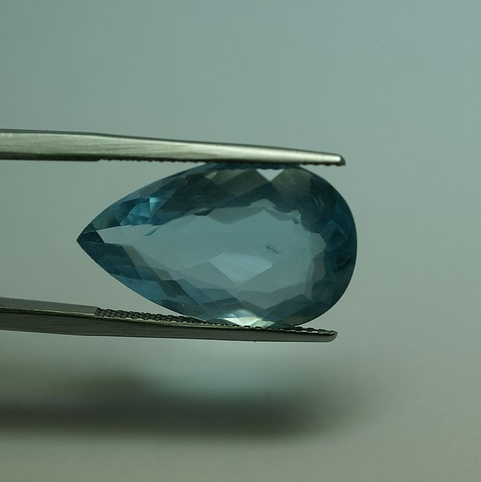 Aquamarine – blues, 11.42 ct