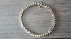 49 diamond bracelet total 1,47 ct *** No Reserve ***