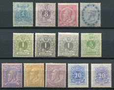 Belgium 1866/91 - Selection of classics including Postage due