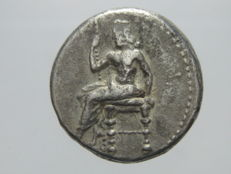 Greek Antiquity - Alexandrine Empire of Babylon. AR Double Shekel. Ca 328-311 BC
