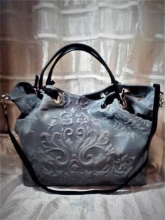 Women's bag - Large - 100% leather - Fior di Loto - Florence