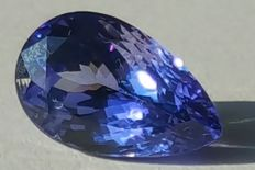 Tanzanite - Bluish Purple - 4.49 ct