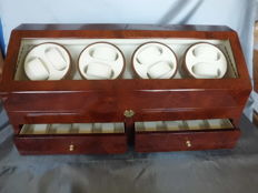 Watch Winder for 8 + 8 automatic watches. Used in new condition.
