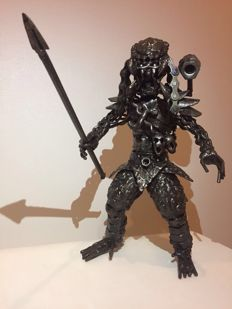 Predator Metal Art Sculpture