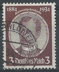 German Empire 1934 – Lüderitz, colour variety – Michel 540 yb