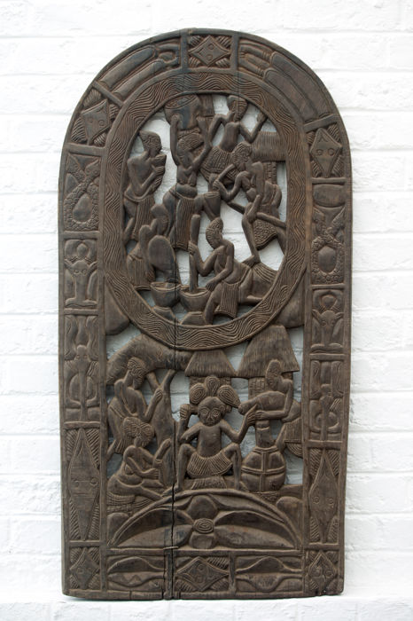 Panel of Royal Court - BAMILEKE - Cameroon