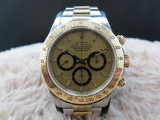 1997 ROLEX DAYTONA 16523 2-TONE WITH ORIGINAL CHAMPAGNE DIAL (ZENITH MOVEMENT)