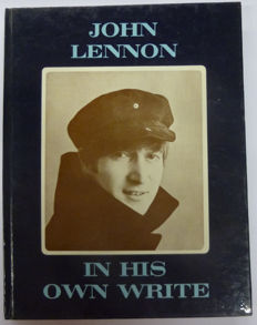 "John Lennon - ""In his own write"" , John Lennon's very first book"
