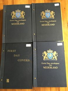 The Netherlands 1959/2009 – collection of FDCs in four Davo albums