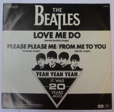 "Ultra rare promo 12 inch ""Love Me Do"""