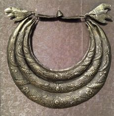 A Metal Miao tribe necklace- China